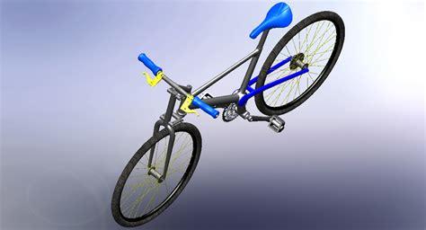 solidworks tutorial bike bicycle solidworks solidworks 3d cad model grabcad