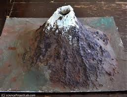 How To Make A Paper Volcano That Erupts - make your own volcano