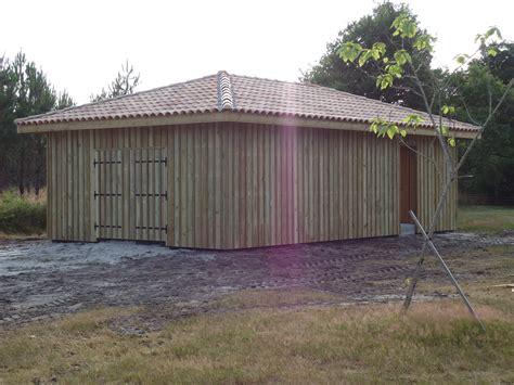 deck 40 grange en bois landes 40 construction grange en