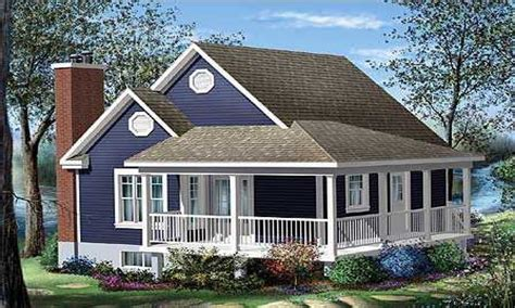 Cottage Bungalow House Plans Cottage House Plans With Wrap Around Porch Cottage House