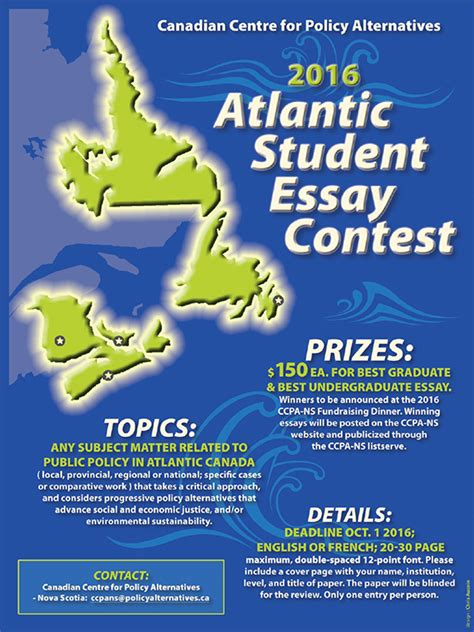 Essay Contests 2016 Canada by Creative Writing Contests Canada Writing Service
