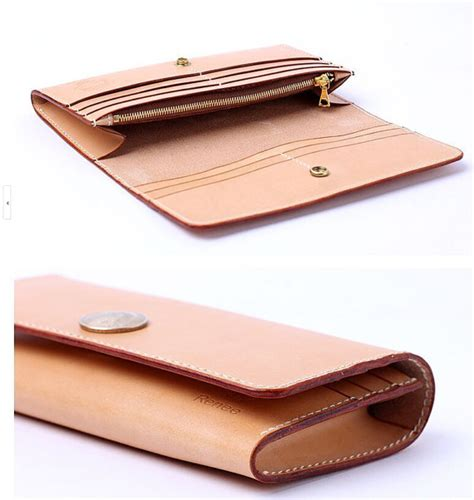 pattern for leather wallet pdf pattern leather template long wallet by