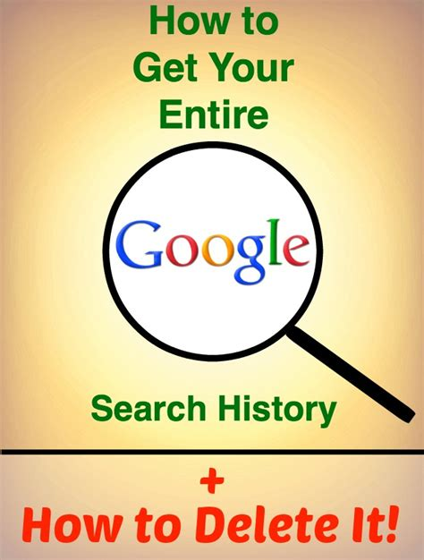 How To Delete Info From True Search How To Get Your Entire Search History And Delete It