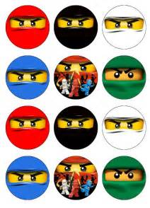 ninjago cake toppers ninjago edible cupcake toppers 12 images for by etsysedibles 6 50 emily s board