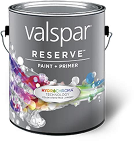 valspar reserve exterior paint with hydrochroma technology