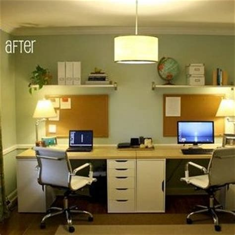 home office for two pictures popsugar home