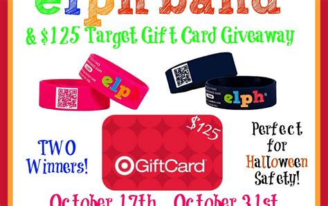 Target Gift Card Event Number - mail4rosey elph band 125 target gift card giveaway