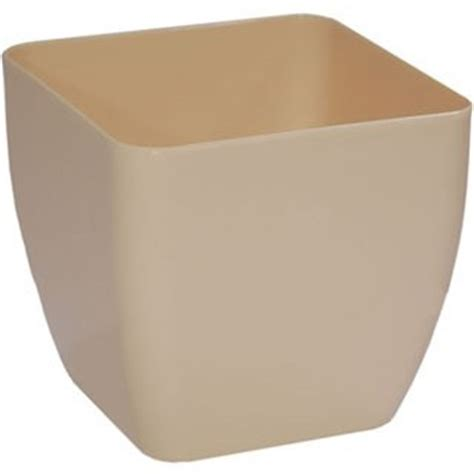 Square Flower Pots Alcea Square Flower Pot Plastic Flower Planters Plant