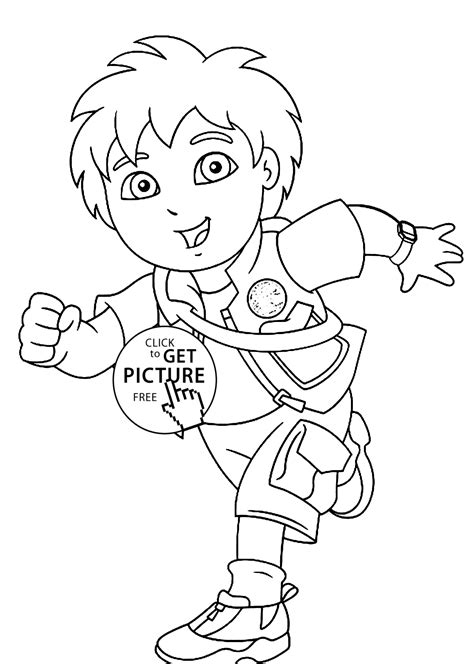 Go Diego Coloring Pages Printable Az Coloring Pages Diego Coloring Pages Free