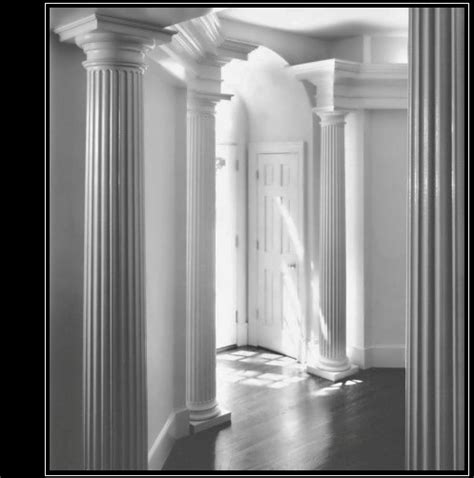 interior decorative columns house columns