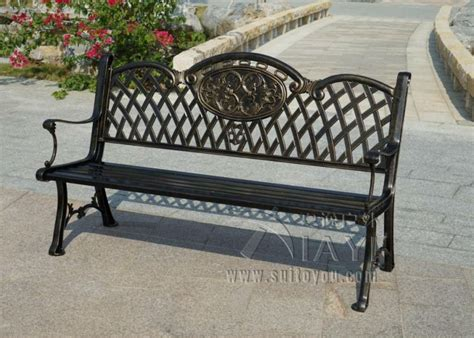 cast aluminum park bench cast aluminum park bench 3 seats luxury durable cast aluminum park chair garden