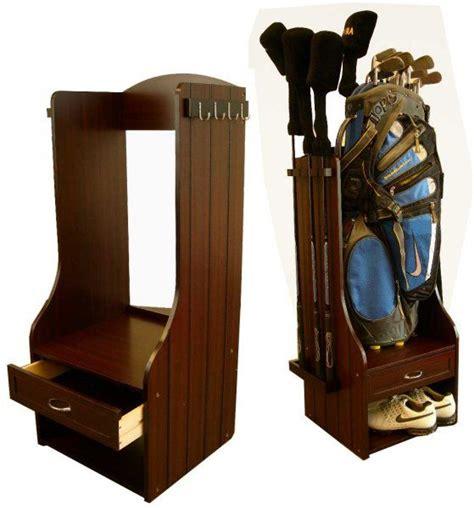 birdie golf bag storage rack 119 gifts diy and wood