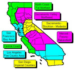 w e r california zip code maps
