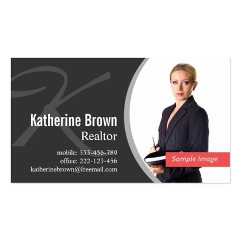 Business Card With Photo