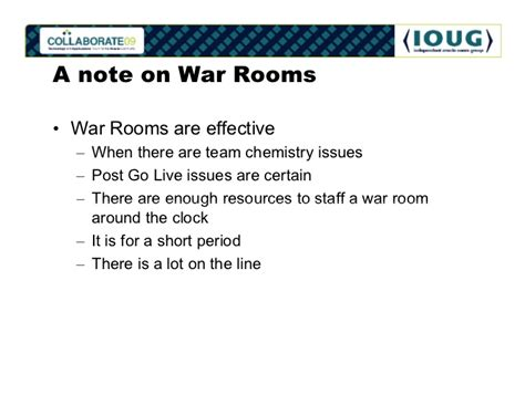 war room meaning cutover plan v2