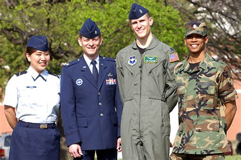 air force rotc service dress uniform baylor rotc cadets earning their wings media