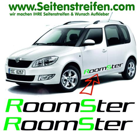 Decal Striping Sticker Klx 041 Glossy skoda roomster roomster side stripe sticker decal set