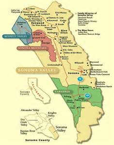 valley of the moon wine map california