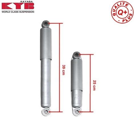 kit   kyb short gas shock absorbers  combi split   vw bus mecatechnic
