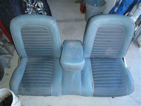 66 mustang bench seat buy fold down rear seat camaro 1968 1969 gm original