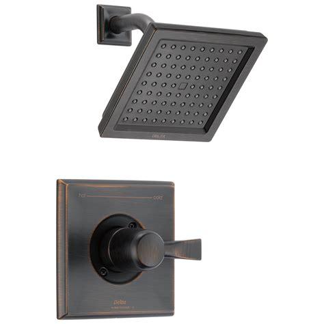 Delta Dryden Shower Trim by Delta T14251 Rb Dryden Monitor R 14 Series Shower Trim Venetian Bronze Ebay