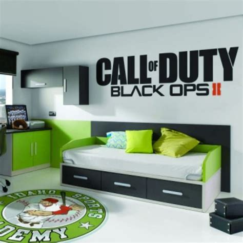 call of duty bedroom theme call of duty black ops 2 ii sticker vinyl decal big