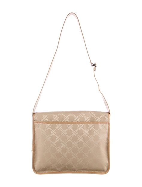 tumi monogram flap messenger bag handbags tmi
