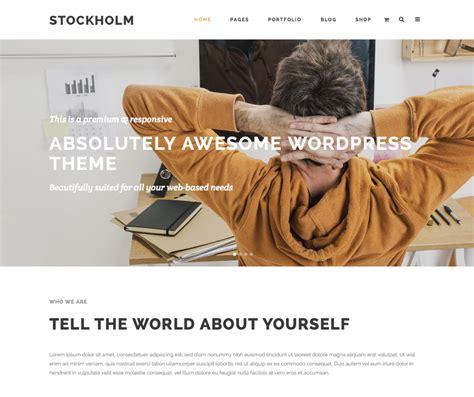 themeforest stockholm stockholm a genuinely multi concept theme wordpress