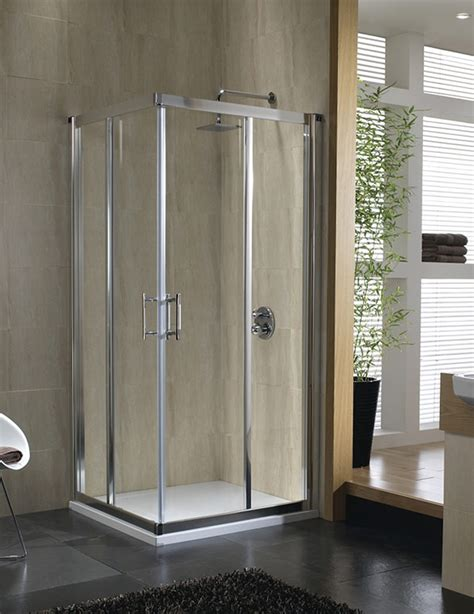 Twyford Shower Doors Twyford Geo6 Corner Entry Shower Enclosure 760 800mm G64303cp