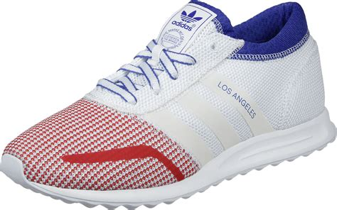 adidas los angeles shoes white blue