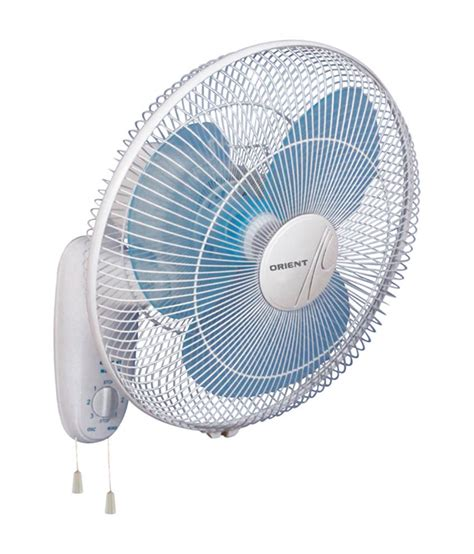 picture of a fan orient 400 mm wall 44 wall fan crystal white price in