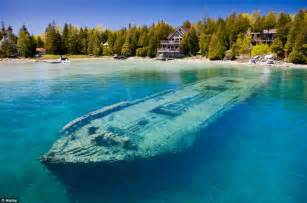 clearest ocean water in the world world 191 s most beautiful shipwreck haunting hull of