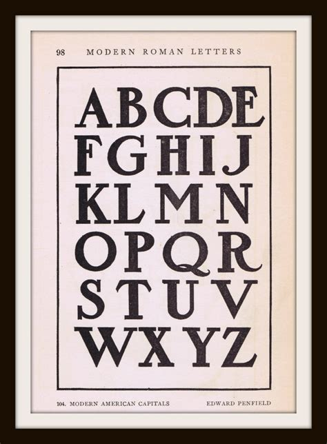 antique alphabet font  early  knick  time