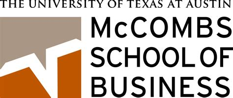 Ut Mba Class Size by File Mccombs School Of Business Logo Svg Wikimedia Commons