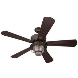 caicos 52 in bronze ceiling fan harbor 52 in merrimack antique bronze outdoor