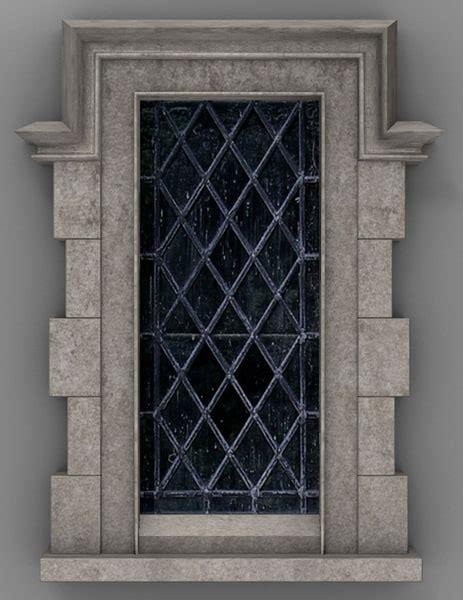 tudor style windows tudor window 3d blend