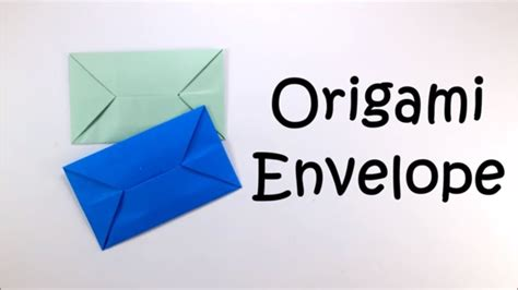 Origami Envelope Easy - origami origami envelope easy origami tutorial for