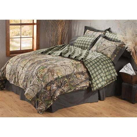 Realtree 174 Apg Hd Camo Complete Bedding Set 163809 Realtree Camo Bedding