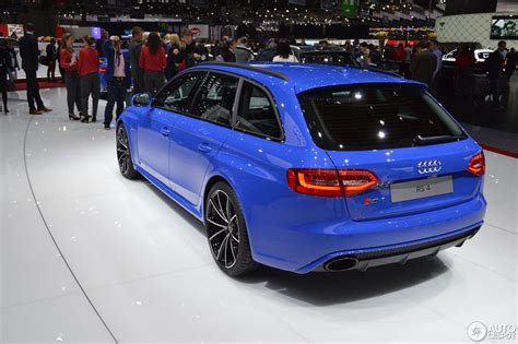Audi Rs4 Nogaro Selection by Geneva 2014 Audi Rs4 Avant Nogaro Selection