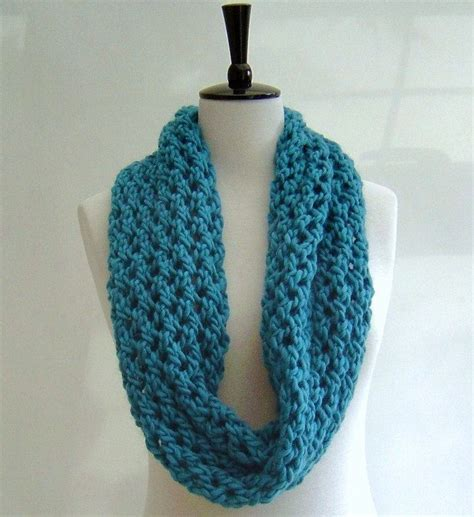 easy knitted infinity scarf cowl infinity scarf it says easy knit so i might to