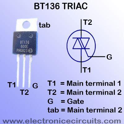 triac diagram filament light dimmer circuit electronic circuits
