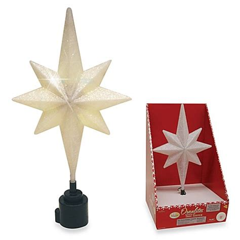 brite star battery operated white rotating bethlehem star