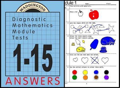 Maths Module Tests 1 15 Ebook Waddington Educational