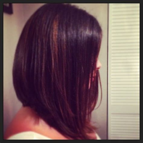 long angled bob hairstyles with back and side views and bangs angled bob long angledbob angled bob hair