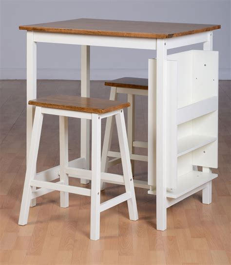 Breakfast Table With 2 Stools by Breakfast Bar Table Chair Set Dining Table 2 Stools