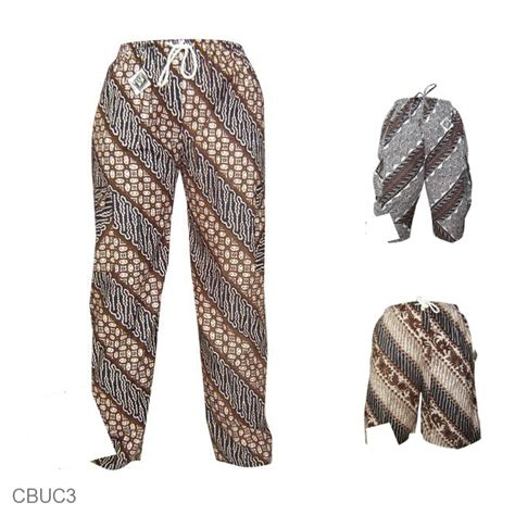Celana Batik Celana Panjang Batik Motif Jogja Celana Murah