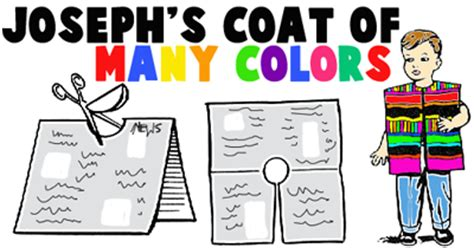 Bible Story Crafts For Kids Ideas For Bible Stories Arts Joseph Coat Of Many Colors Activity