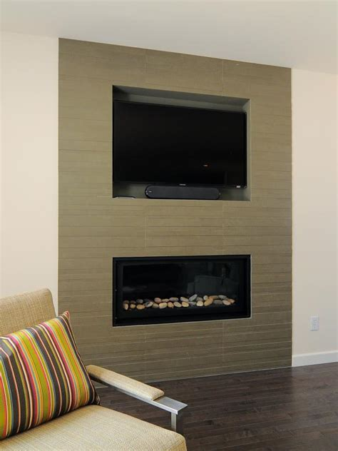 Floor To Ceiling Tiled Fireplace by Photo Page Hgtv