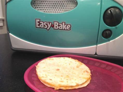printable easy bake oven recipes easy bake oven quesadilla recipe food com