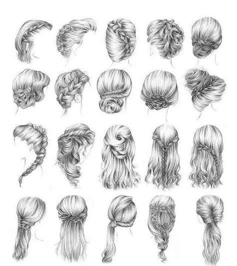 Summer Sketches 82 by Summer Hairstyles Search Hair